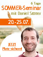 Sommer Retreat mit Daniel
